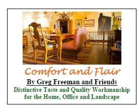 Comfort and Flair By Greg Freeman and Friends